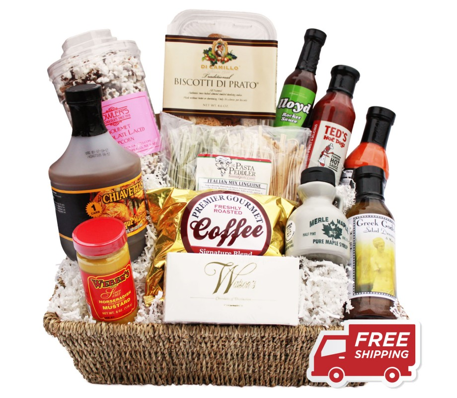'Buffalo Bounty' Gift Basket (#99)
